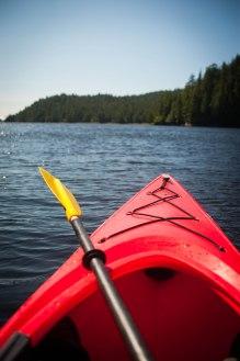 Kayak à Prince Rupert