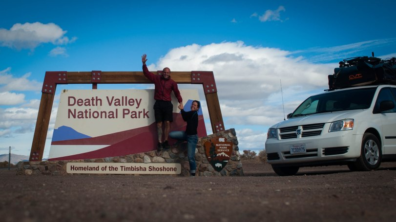 Arrivée à Death Valley